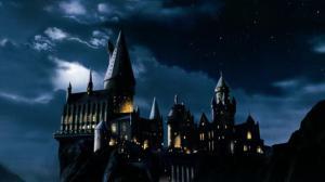 Image: Hogwarts Castle at Night