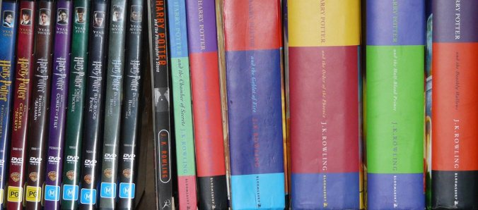 Harry Potter DVDs and Books