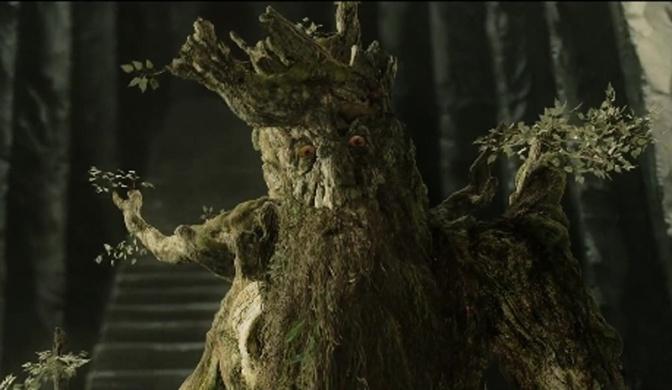 Image: Treebeard at Isengard