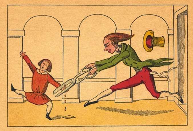 Original Illustration from Struwwelpeter