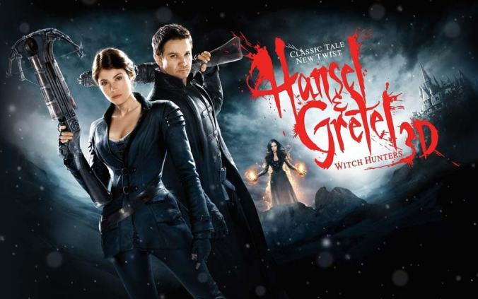 Movie Poster: Hansel & Gretel Witch Hunters