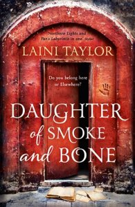 Cover Image: Daughter of Smoke and Bone by Laini Taylor