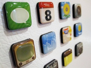 image: iPhone App Magnets
