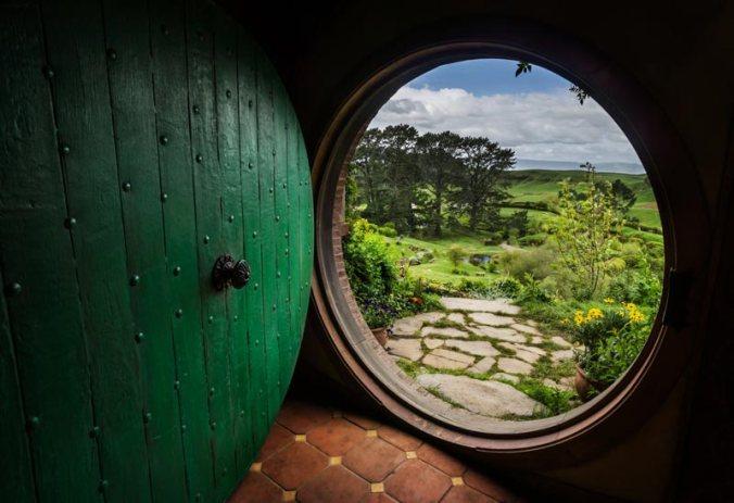 Image: Door to Hobbit House
