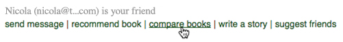 Image: Goodreads Compare Books Link