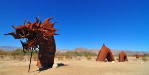 Image: Dragon in Desert Sand