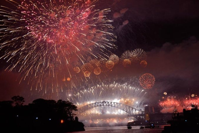 Image: Sydney Harbour New Year's Fireworks 2013