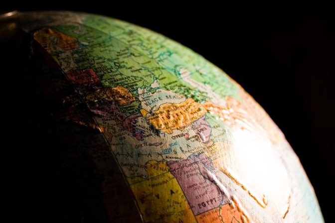 Image: World Globe