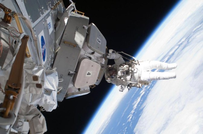 Image: NASA Astronaut Space Walk