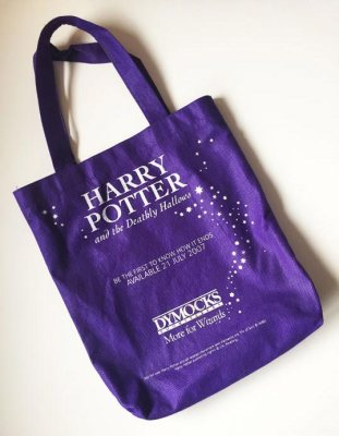 Image: Deathly Hallows Harry Potter Dymocks Bag
