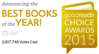 Image: Goodreads Choice Awards 2015