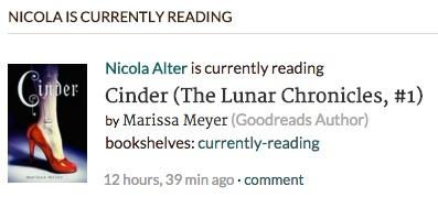 Image: Goodreads Currently Reading