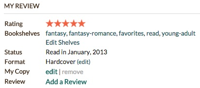 "Image: Goodreads ""My Review"""