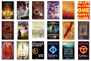 Image: My Favourites Shelf From Goodreads