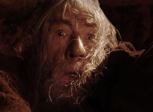 Image: Gandalf Falling