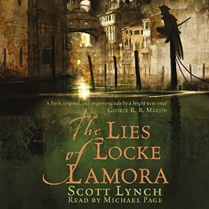 Audiobook Cover: The Lies of Locke Lamora