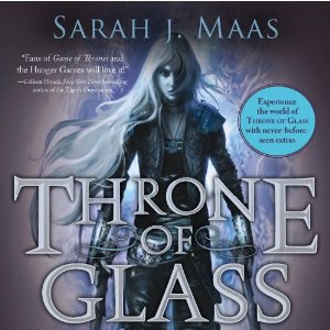 Audiobook Cover: Throne of Glass