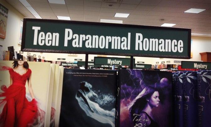 Image: Teen Paranormal Romance Bookshelf