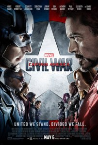 Movie Poster: Captain America Civil War