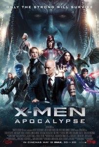 Movie Poster: X-Men Apocalypse