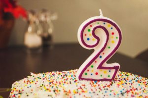 Image: Turning 2 Candle