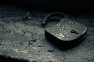 "Image: Old Lock Labelled ""Winner"""