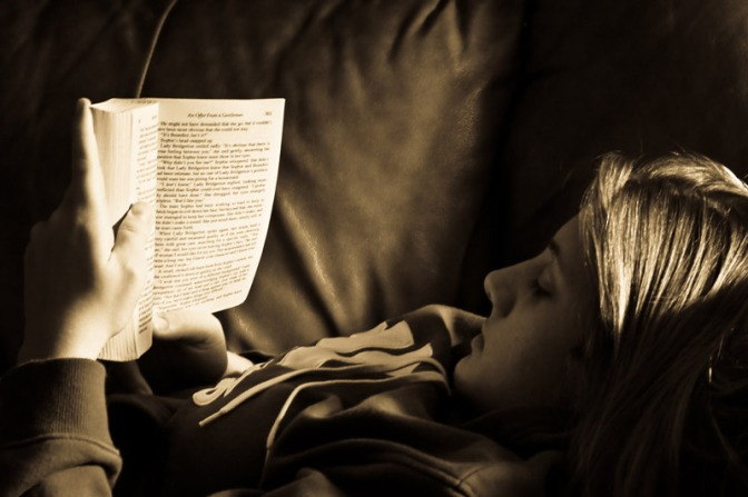 Image: Girl Reading