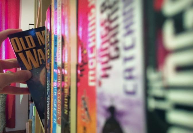 Image: Grabbing a Book