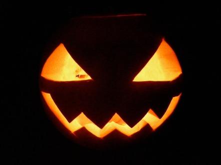 Image: Jack-o'-lantern Face