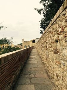 Image: Girona's City Wall