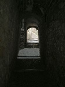 Image: Narrow Alley in Girona