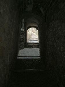 Image: Narrow Alley in Girona
