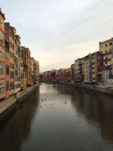 Image: The Onyar River, Girona