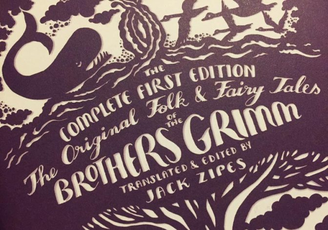 The Original Folk And Fairy Tales Of Brothers Grimm Illustrated Cover