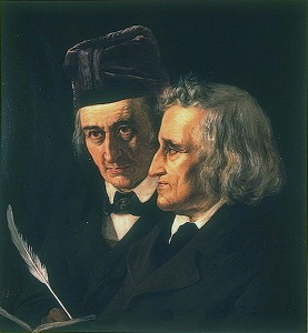 Image: Portrait of the Brothers Grimm