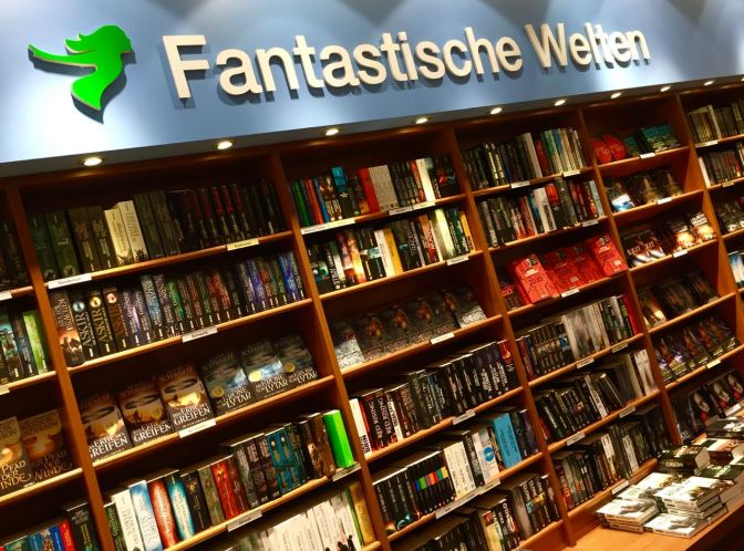 Image: 'Fantastische Welten' German Fantasy Book Shelves