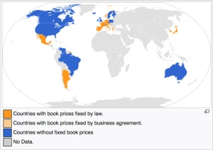 Image: Countries With Fixed Book Pricing