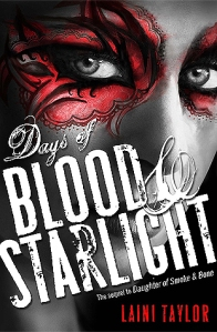 Book Cover: Days of Blood and Starlight