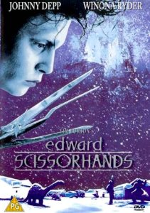 Movie Poster: Edward Scissorhands