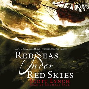 Audiobook Cover: Red Seas Under Red Skies