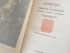 Image: Harvard Classics Book Title Page