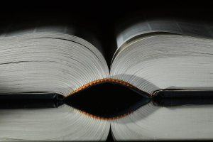 Image: Large Open Book