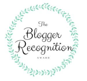 Badge: Blogger Recognition Award