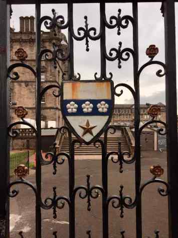 Image: George Heriots School Gate