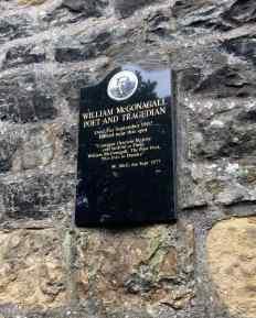 Image: William McGonagall's Grave