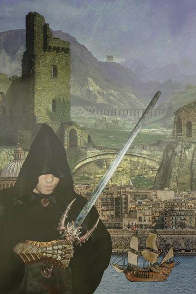 Cliche Fantasy Cover: Sword