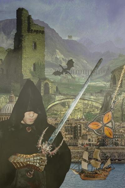 Cliche Fantasy Cover: Amulet
