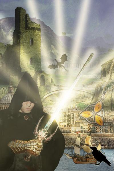 Cliche Fantasy Cover: Raven