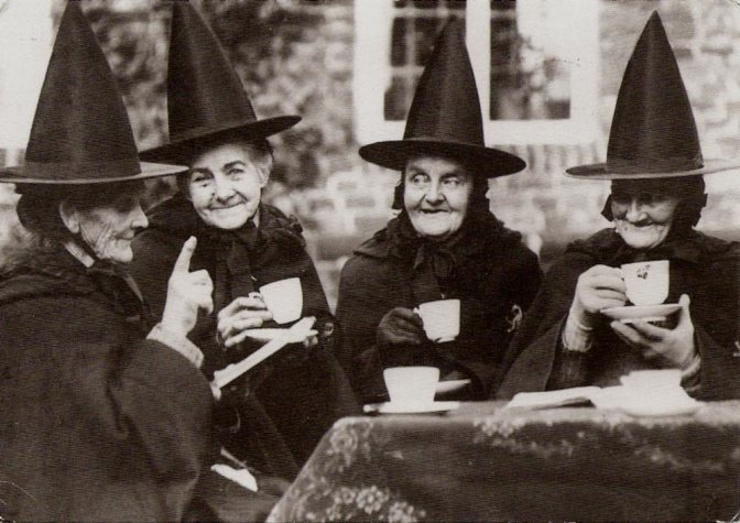 Image: Witch Party Postcard