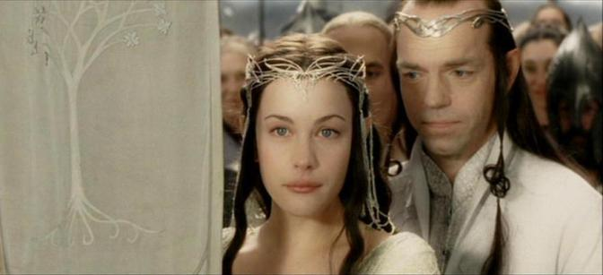 Image: Elrond and Arwen